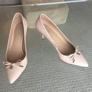 Blush pink Michael Kors kitten heels